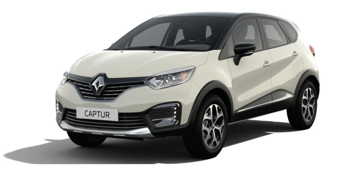 Renault  CAPTUR ZEN M/T - frontal