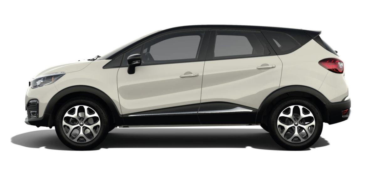 Renault  CAPTUR ZEN M/T - lateral