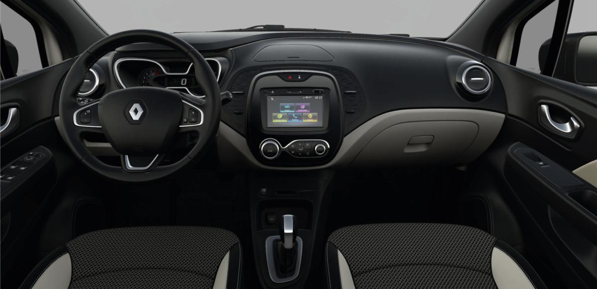 Renault  CAPTUR ZEN M/T - interior