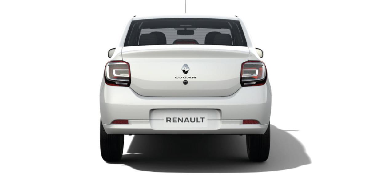 Renault  LOGAN ZEN AC - posterior
