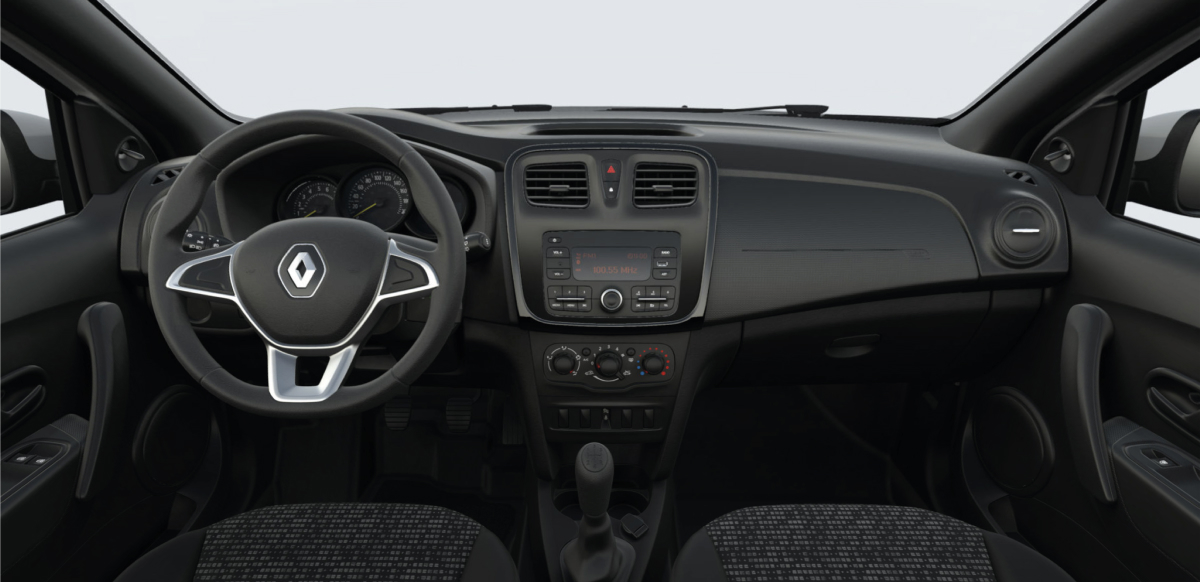 Renault  LOGAN ZEN AC - interno