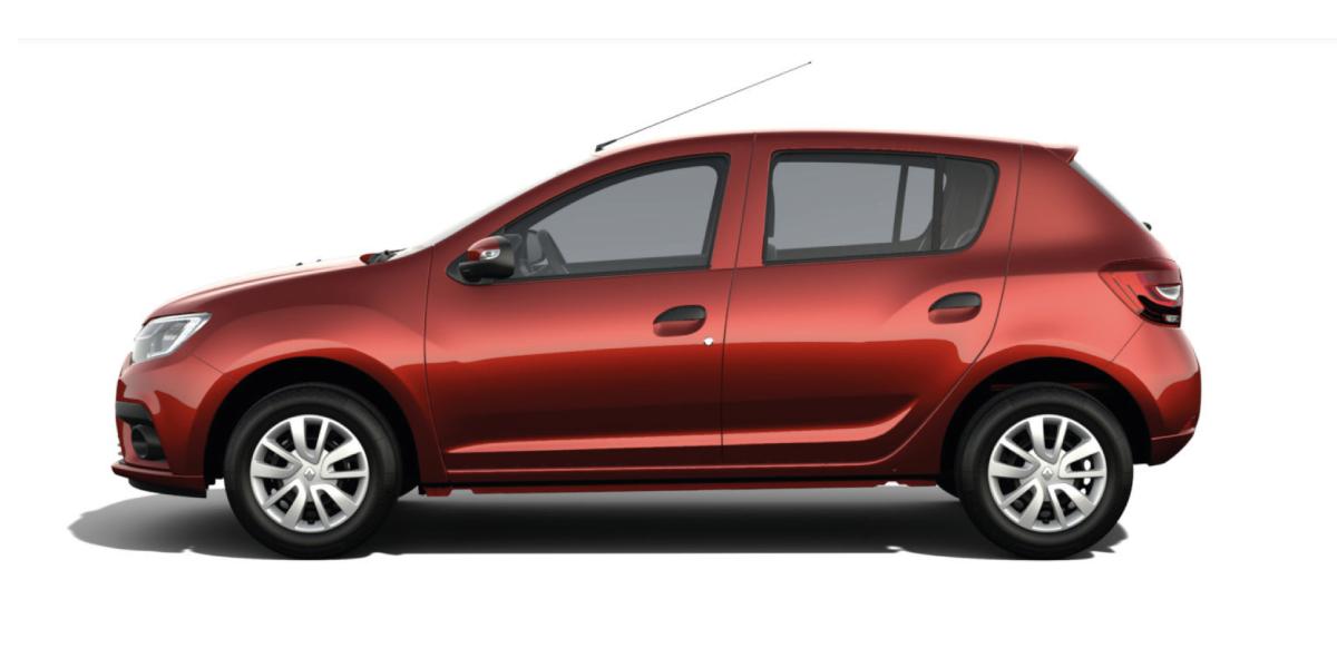 Renault SANDERO ZEN A/C M/T - lateral