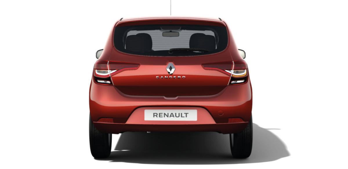Renault SANDERO ZEN A/C M/T - posterior