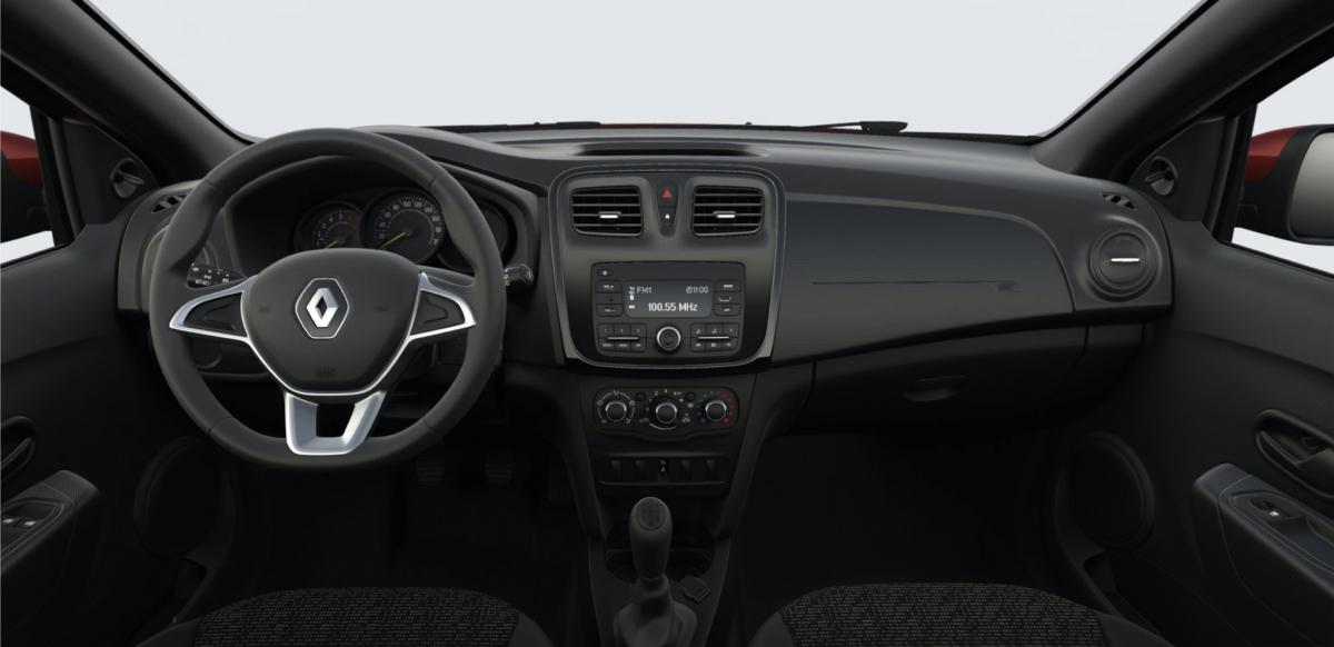 Renault SANDERO ZEN A/C M/T - interior