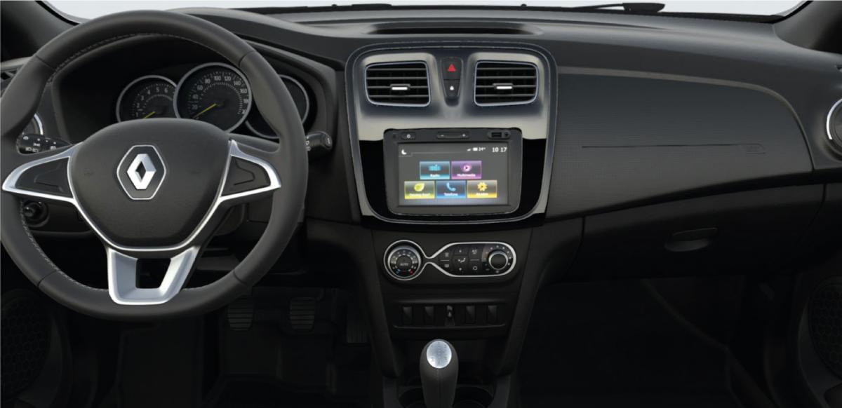 Renault LOGAN ZEN AC - tablero