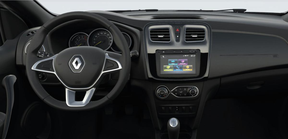 Renault SANDERO ZEN A/C M/T - tablero