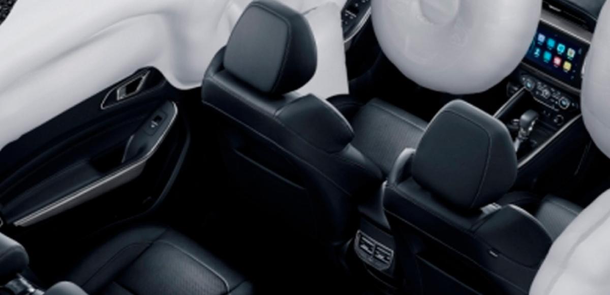 Interior airbags