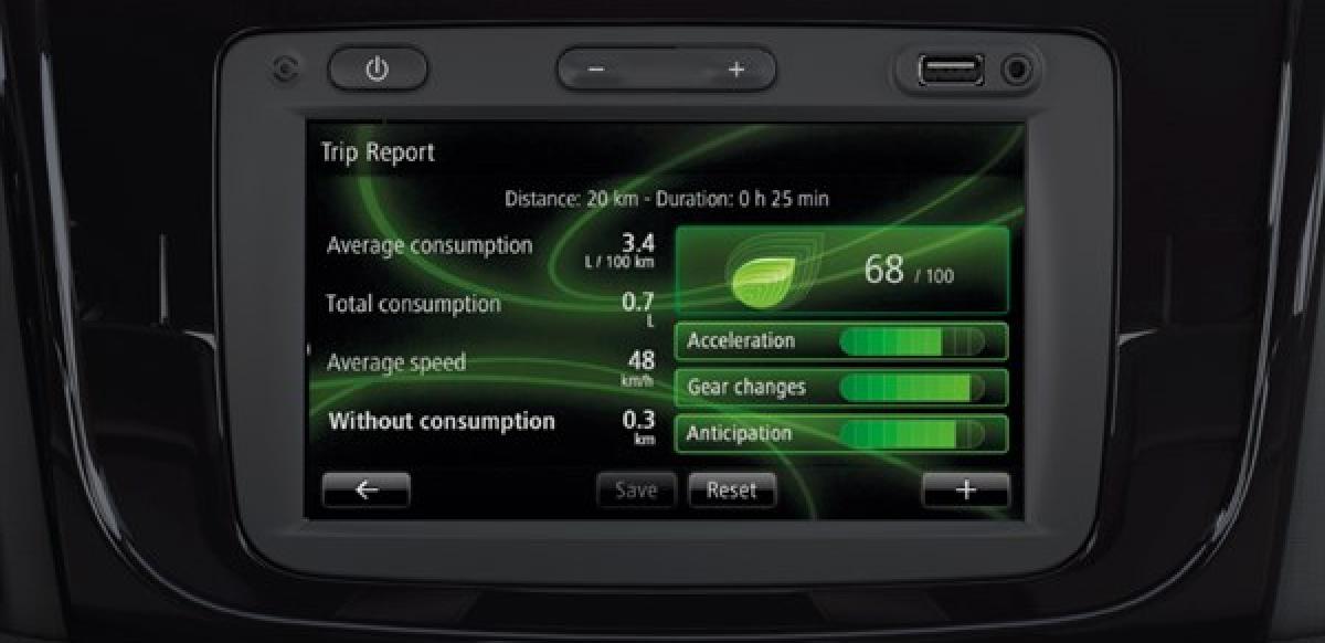 Renault SANDERO ZEN A/C M/T - radio