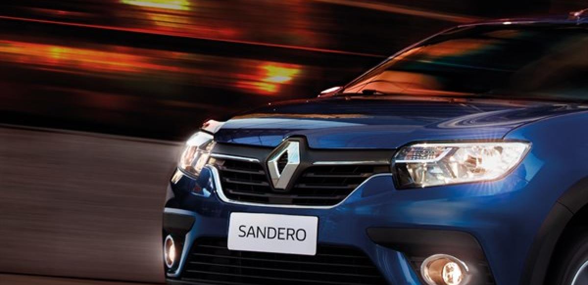 Renault SANDERO ZEN A/C M/T - frontal