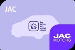 Vehículos JAC solo aquí en Tu auto en casa
