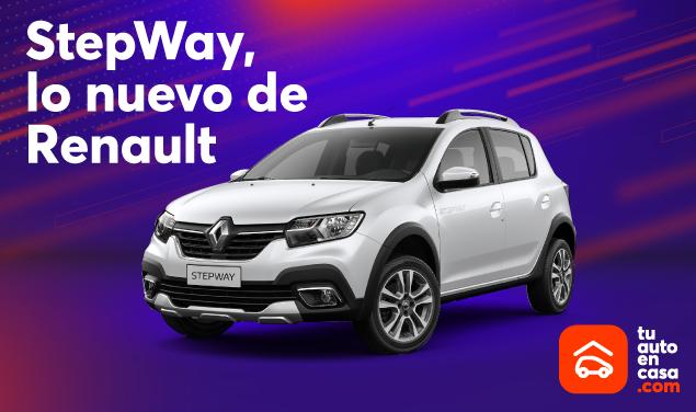 Renault StepWay 2021 al alcance de un clic