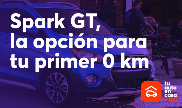 Spark GT, la opción para tu primer 0 km