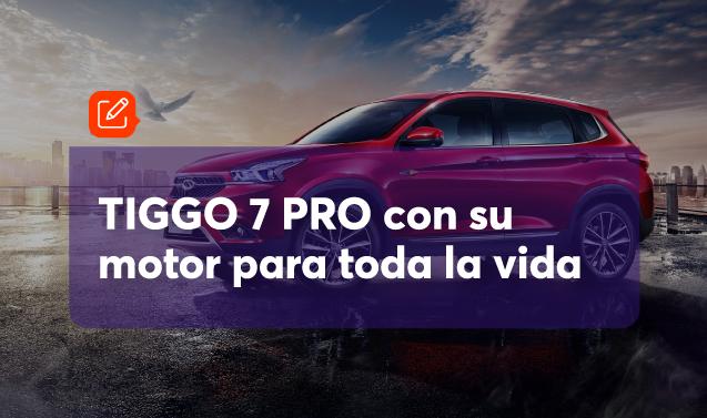 El TIGGO 7 PRO llega a Ecuador con muchas sorpresas